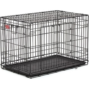 Клетка Midwest Life Stages A.C.E. 36'' Double Door Dog Crate 94x57x63h см 2 двери- MAXLock черная для собак