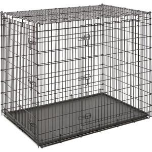 Клетка Midwest Solutions Series 54'' Double Door 137x94x114h см 2 двери черная для собак