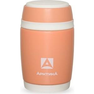 Термос-бочонок для еды 0.48 л Арктика (409-480w коралловый) термоконтейнер арктика 2000 30 л зеленый