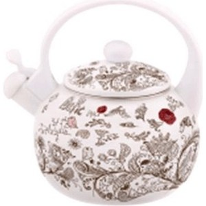 Чайник эмалированный 2.5 л Kelli (KL-4428) кофеварка kelli kl 1444 белый