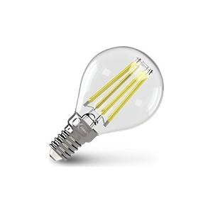 Филаментная светодиодная лампа X-flash XF-E14-FL-P45-4W-4000K-230V (арт.48014) лампочка x flash xf e14 flm ca35 4w 4000k 230v 48854