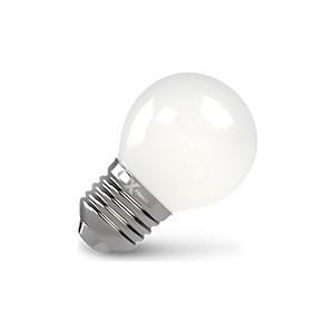 Филаментная светодиодная лампа X-flash XF-E27-FLM-P45-4W-4000K-230V (арт.48168) лампочка x flash xf e14 flm ca35 4w 4000k 230v 48854
