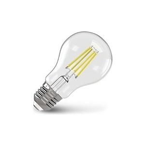 Филаментная светодиодная лампа X-flash XF-E27-FL-A60-6W-4000K-230V (арт.48038) светодиодная лампа no name 59 smd e27 230v 6 5w