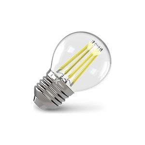 Филаментная светодиодная лампа X-flash XF-E27-FL-P45-4W-4000K-230V (арт.48021) светодиодная лампа x flash xf e27 g120 20w 3000k 230v арт 48274