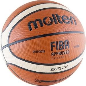 Мяч баскетбольный Molten BGF5X-RFB р.5 FIBA Appr molten bgr7 vy