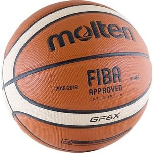 Мяч баскетбольный Molten BGF6X-RFB р.6 FIBA Appr molten bgh6x размер 6