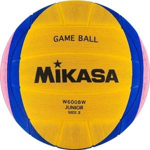 Мяч для водного поло Mikasa W6008W Junior р 2 цена 2017