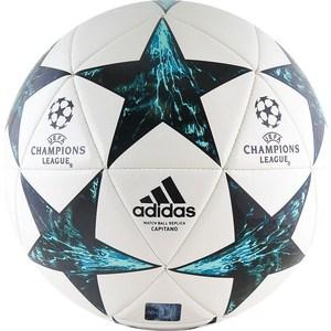 Фотография товара мяч футбольный Adidas Finale 17 Capitano (BP7778) р.4 реплика официального мяча ЛЧ2017/18 (755398)
