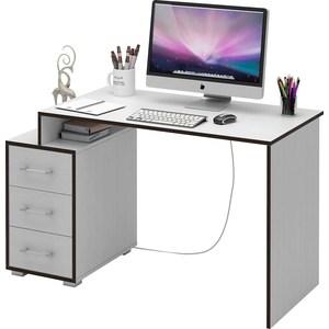Стол Мастер Экстер-1 (белый) МСТ-СТЭ-01-БТ-16 стол мастер триан 41 белый мст уст 41 бт 16
