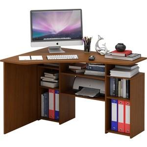 Стол Мастер Корнет-1 (орех) МСТ-СТК-01-ОР-16 компьютерный стол мф мастер корнет 1 угловой орех