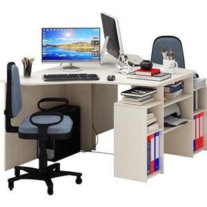 Стол Мастер Корнет-3 (дуб молочный) МСТ-СТК-03-ДМ-16 стол мастер триан 41 венге дуб молочный мст уст 41 вм дм 16