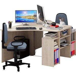 Стол Мастер Корнет-3 (дуб сонома) МСТ-СТК-03-ДС-16 стол мастер корнет 1 дуб молочный мст стк 01 дм 16