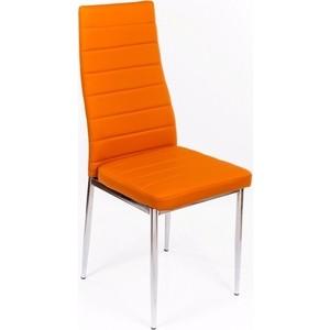 Стул Woodville DC2-001 оранжевый стол стеклянный woodville lmt 118 оранжевый