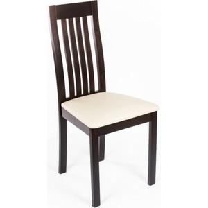 Стул деревянный Woodville Molli венге стул деревянный woodville mn milano молочный