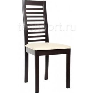Стул деревянный Woodville Lora венге mcity стул d 878 h крем венге