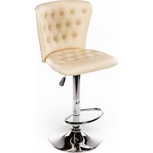 где купить Барный стул Woodville Gerom бежевый дешево