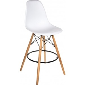 Барный стул Woodville Eames PC-007 белый woodville стул барный orion 1252 поставляется по 2 шт