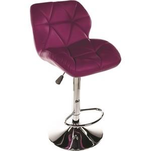 Барный стул Woodville Trio фиолетовый цена и фото
