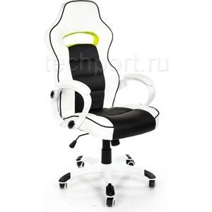 Компьютерное кресло Woodville Lider черно-белое оригинал кресло мешок кожаное оригинал груша черно белое oo6 elyy 6276361