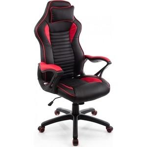 Компьютерное кресло Woodville Leon красное/черное компьютерное кресло юнитекс сити tw01 черное