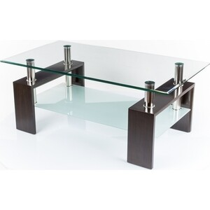 Стол стеклянный Woodville CT-52 венге стол стеклянный woodville 712t белый