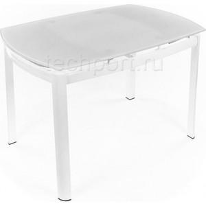 Фотография товара стол стеклянный Woodville 712T белый (760043)