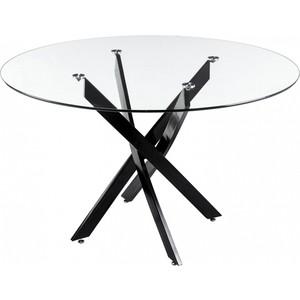 Стол стеклянный Woodville Komo Black стол стеклянный woodville lmt 118 оранжевый