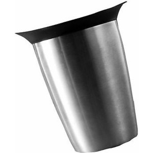 Ведёрко для игристых вин Vacu Vin Элегант нержавеющая сталь (3647360) пробка д игристых вин vacu vin черная с функцией каплеуловителя