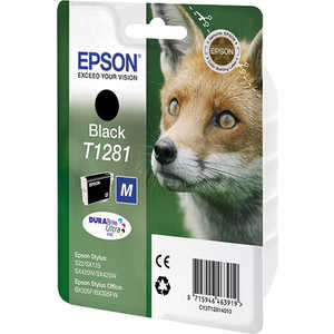 Картридж Epson Stylus (C13T12814011) for epson t1281 t1282 t1283 t1284 refillable ink cartridge for epson stylus s22 sx125 sx130 sx235w sx425w sx435w printer part