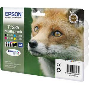 Картридж Epson T1285 Multipack (C13T12854012) картридж epson t0634 желтый c13t06344a10