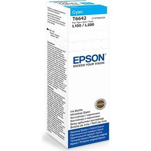 Чернила Epson L120/132/1300/222/312/366/382/486/566/605/655/ голубые 70ml (C13T66424A) pro svet light mini par led 312 ir