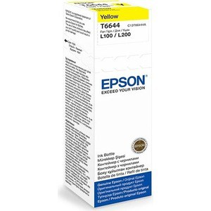 Чернила Epson L120/132/1300/222/312/366/382/486/566/605/655/ желтые 70ml (C13T66444A) pro svet light mini par led 312 ir