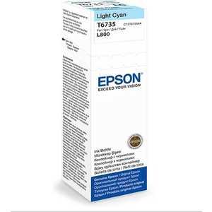 Чернила Epson Stylus Photo L800 светло-голубой (C13T67354A) оригинальные чернила для epson l132 70 мл 4 цвета
