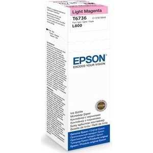 Чернила Epson Stylus Photo L800 светло-пурпурный (C13T67364A) чернила epson stylus photo l800 желтый c13t67344a