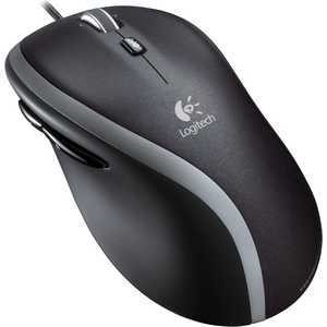 Мышь Logitech Corded M500 Black (910-001202)