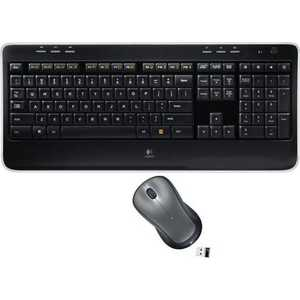 Комплект Logitech Wireless Combo MK520 Black USB (920-002600) 920 003995 клав мышь беспроводная logitech wireless combo mk330