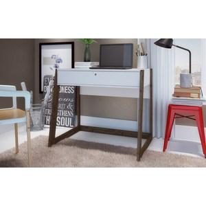 Стол Manhattan Comfort SALVADOR BC 50-143 белый/деревянные ножки