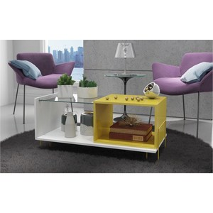 Стол Manhattan Comfort BODEN BM 71-128 белый/желтый детские штаны boden miniboden 2015