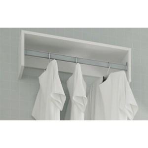 Фотография товара вешалка Manhattan Comfort CLEAN 1.0 BS 30-06 белая (768202)