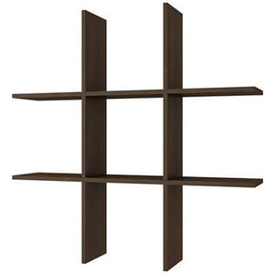 Полка Manhattan Comfort TARANAKI BX 21-49 темно-коричневый