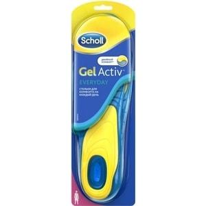 Scholl GelActiv Everyday Стельки для комфорта на каждый день для женщин английский на каждый день