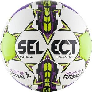 Мяч футзальный Select Futsal Talento 11 (852616-049) р.3 мяч футбольный select talento р 4 тренировочный облегченный дизайн 2018г бел зел крас чер