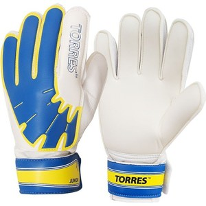 Перчатки вратарские Torres Jr (FG05025-BU) р.5 перчатки вратарские torres jr fg05027 bu р 7