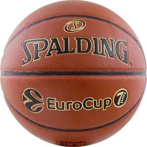 Мяч баскетбольный Spalding TF-1000 Legacy EuroCup р.7 (74-616z) баскетбольный мяч spalding tf 1000 legacy 74 451z