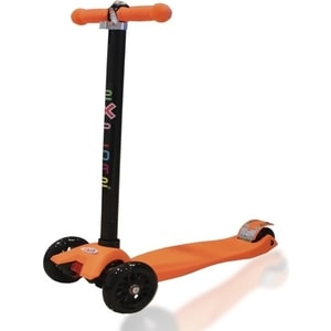 Самокат 2-х колесный Amigo Easy оранжевый самокат amigo torino sport красный