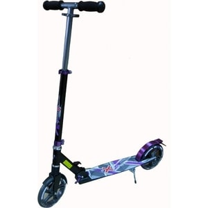 Самокат 2-х колесный Amigo Supreme фиолетовый скейт 2 х колесный dragon board totem фиолетовый во2226