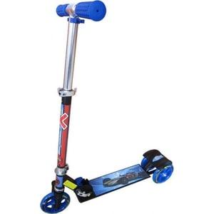 Самокат 3-х колесный Amigo Viper sport синий самокат 3 х колесный 21st scooter 21st scooter самокат 3 х колесный maxi scooter с сиденьем синий