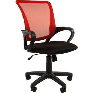 Офисное кресло Chairman 969 TW красный кресло карповое tramp chairman trf 031