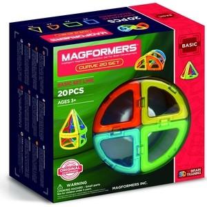 Магнитный конструктор Magformers Curve 20 (701010)