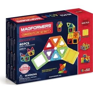 Магнитный конструктор Magformers Window Plus Set 40 set (715002)